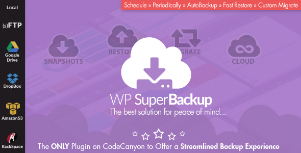 Super Backup & Clone – Migrate for WordPress